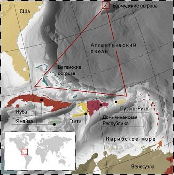 Бермудский треугольние